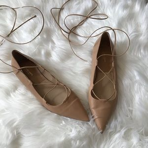 Michael Kors Collection Lace up flats